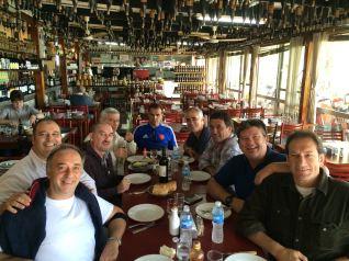 Roberto, Paco, Horacio, Mike, Gustavo, Santiago, Dougui, Pepe, Leo