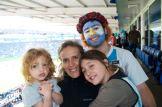 Nicole, Andrea, Sophie, Tato