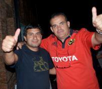 Arbitro y Gustavo