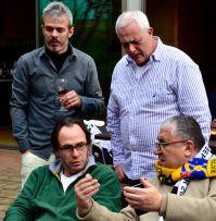 Mariano, Pirulo, Arturo, Carlos