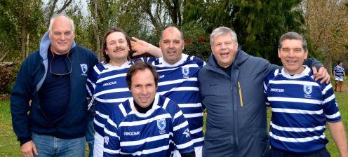 Pepe, Martin, Paco, Fabian, Tristan, Arturo