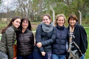Clara, Daniela, Juana, Andrea, Silvia