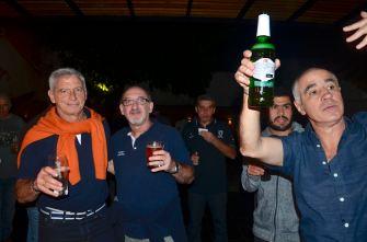 Mike, Horacio, Tristán, Matías, Santiago